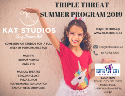 Promotional image for Kat Studios summer program