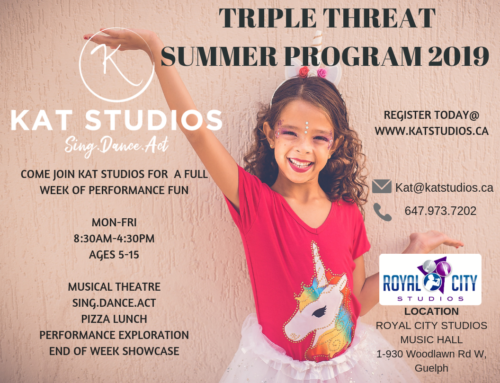 Summer Camp – Musical Theatre at RCS!