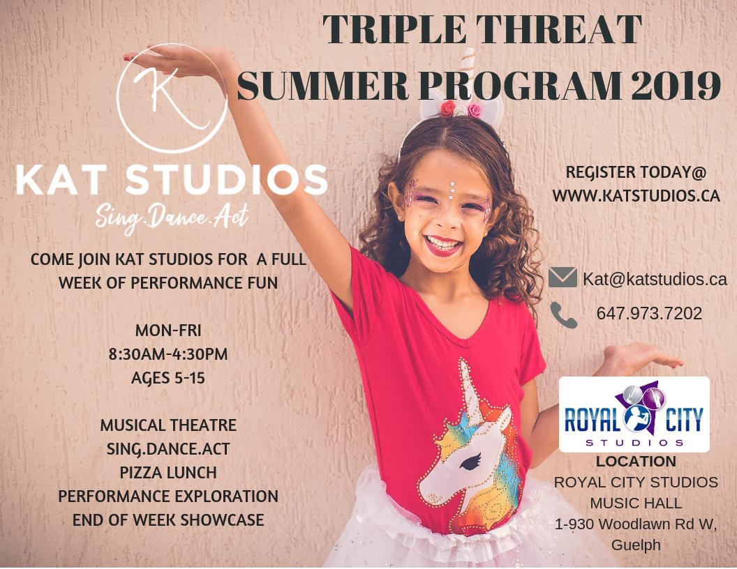 Promotional image for Kat Studios summer program
