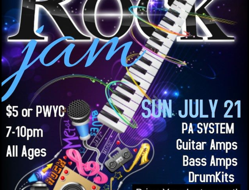 RCS Open Rock Jam: Make Your Connection