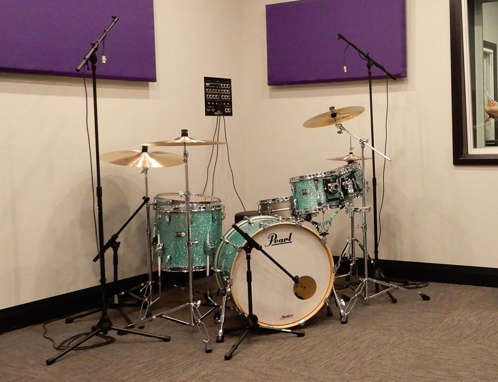 Inside the Royal City Studios recording studio.
