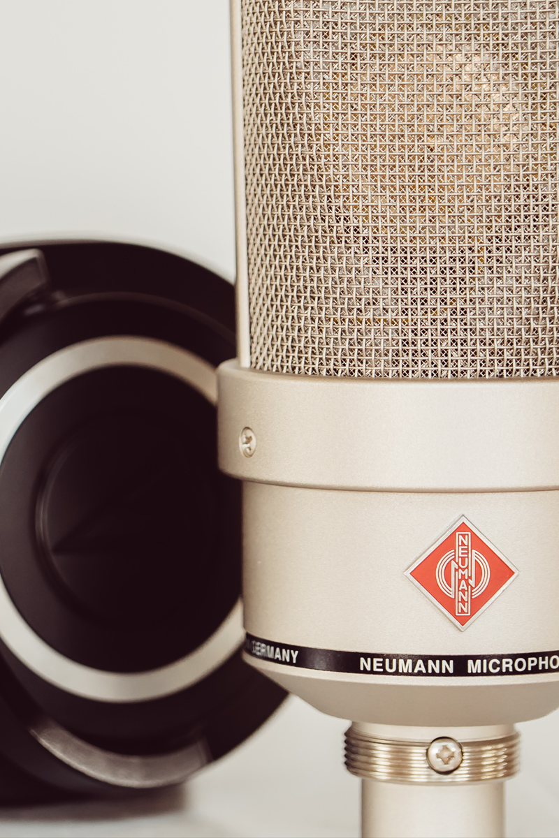 The right microphone for recording