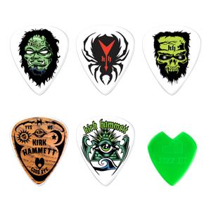 Halloween-themed guitar picks