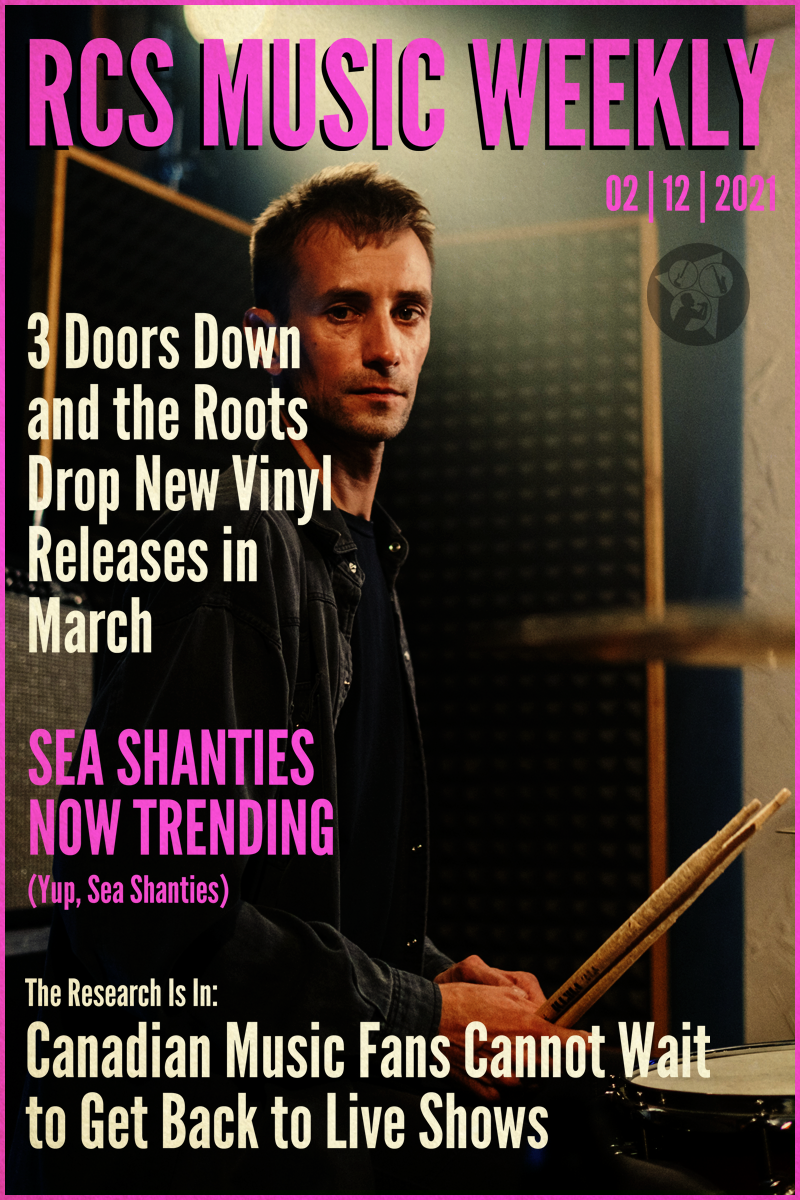 Royal City Studios music news weekly