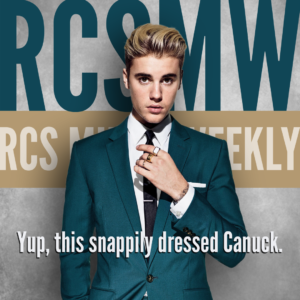 Justin Bieber - RCS Music News Weekly