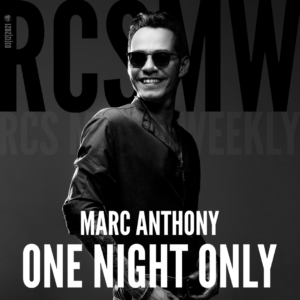 Marc Anthony performs One Night Only