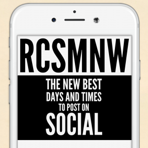 RCS Music News Weekly - the best new times to post on social