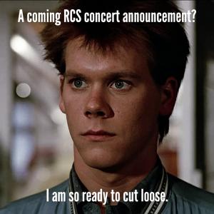 RCS concert announcement