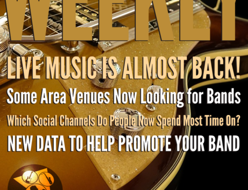RCS Music News Weekly – Live Music Is Almost Back!