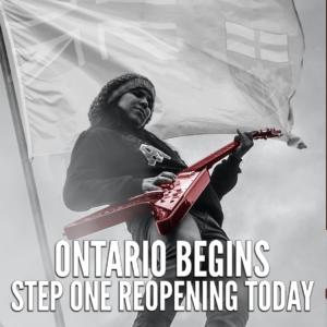 RCS Music News Weekly - Ontario Begins Step One