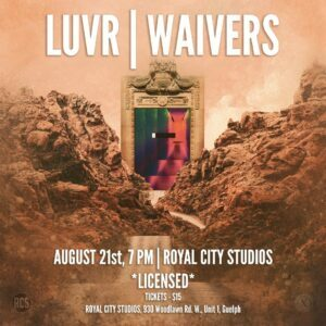 LUVR and WAIVERS in concert