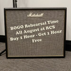 BOGO rehearsal time - Royal City Studios
