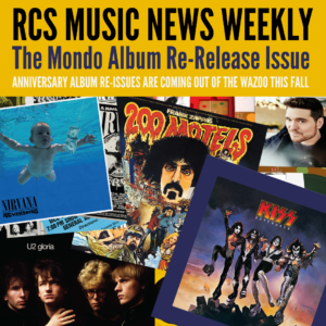 album re-issues RCS Music News Weekly